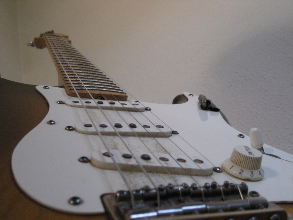 haar gitaar